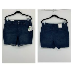 Style & Co. Women's Denim Shorts Bradford Blue